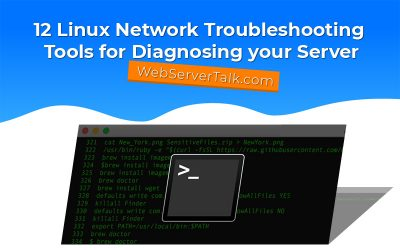linux network troubleshooting tools and software commands
