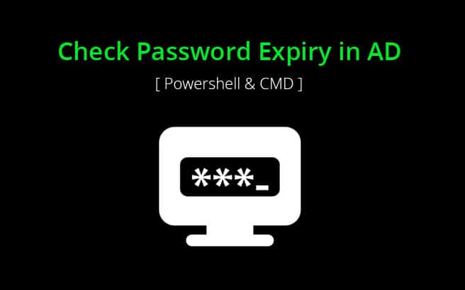 HowTo Check when Password Expires in Active Directory