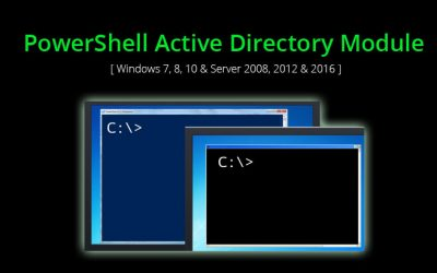 Install PowerShell Active Directory Module