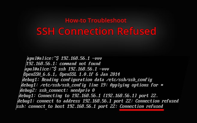 How to troubleshoot SSH Connection Refused
