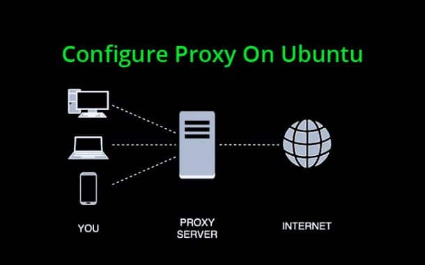 configure proxy on ubuntu