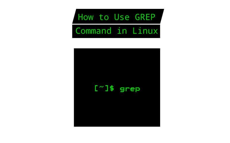 how to use grep command linux