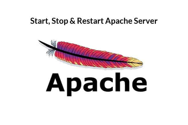howto start stop and restart apache