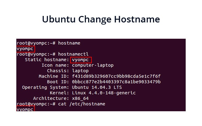 Ubuntu Change Hostname – (16.04, 18.04 and 19)